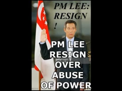 Why should PM Lee Hsien Loong resign over abuse of power?