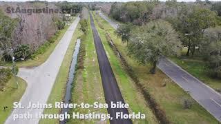 Final segment complete in bike trail between St. Johns, Putnam counties