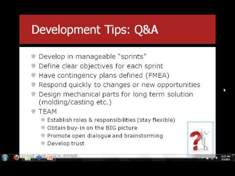PRG Webinar  Agile Hardware Development - Annuvia Case Study (Part II)
