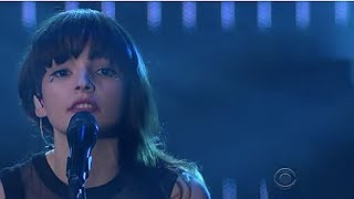 clearest blue the late late show chvrches live