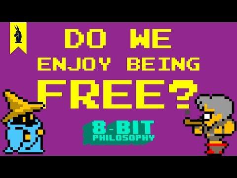 Do We Enjoy Being Free? (Final Fantasy + Sartre) - 8-Bit Philosophy