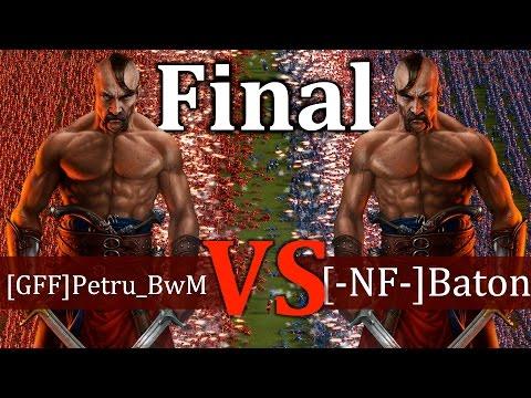 Cossacks 3 Tournament - [GFF]Petru_BwM vs [-NF-]Baton | FINAL - Expert vs Expert