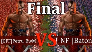 Cossacks 3 Tournament - [GFF]Petru_BwM vs [-NF-]Baton | FINAL - Expert vs Expert