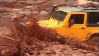 Estrada alagada - Desastre Mariana, MG
