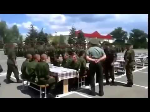 Зампотыл, Часть 1. Как учат обедать в армии России