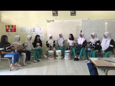 Tes Praktek Musik Kontemporer Seni Budaya: Perkusi XII IPA 5 2016/2017