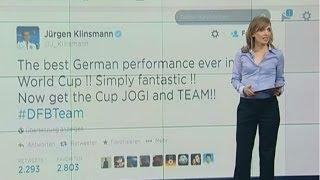 Brasilien vs. Deutschland: Das Netz verneigt sich vor deutscher Wunder-Elf.