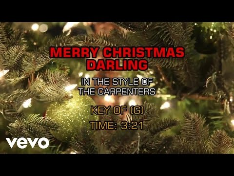 Carpenters - Merry Christmas Darling (Sing Together Christmas)