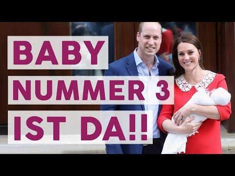 William und Kate: Es ist ein JUNGE! 🤴 | ROYALS