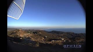 HPWREN Live Stream - 20191021 Palisades Fire east of 69 Bravo near Los Angeles