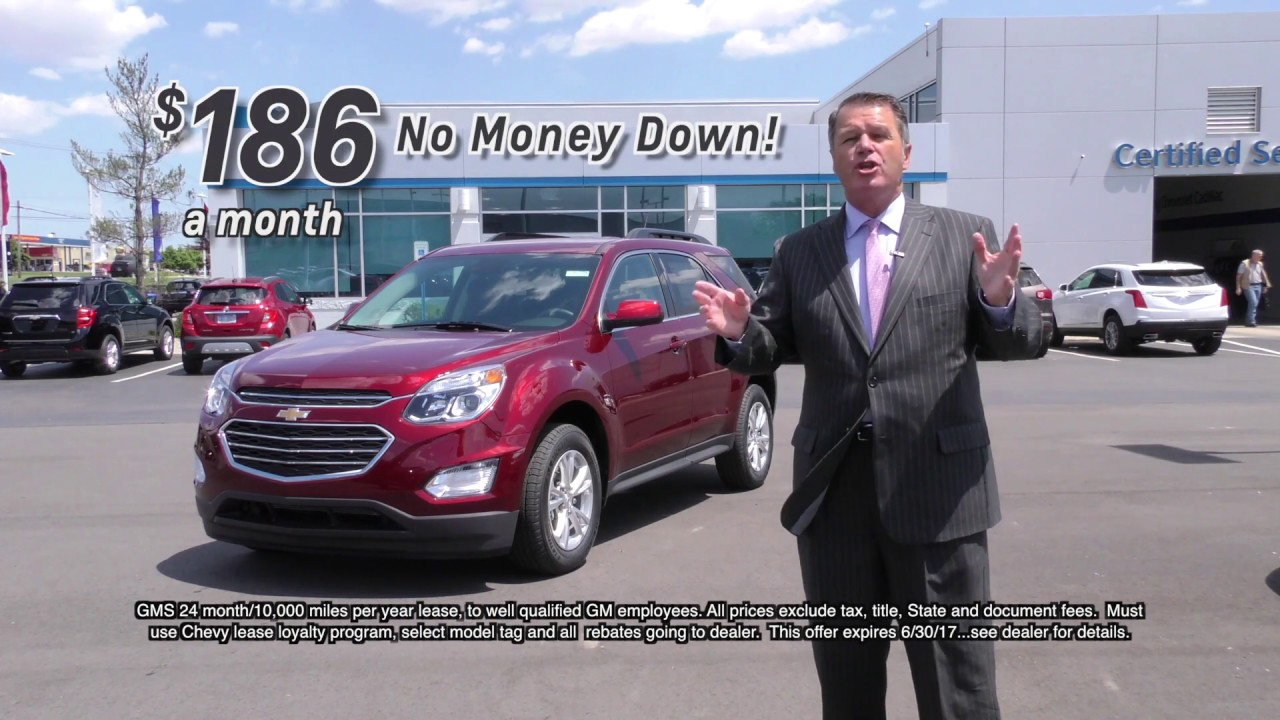 2017 Chevrolet Equinox Lease Special at Young Chevrolet Cadillac in