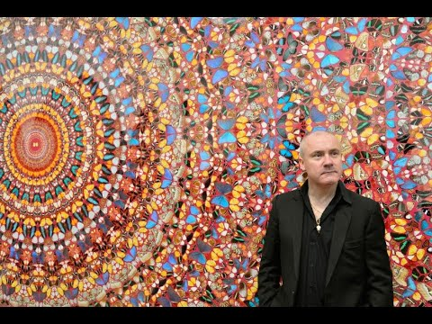 Stars flock to unveiling of Damien Hirst's Veil Paintings - 247 News