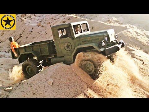 Bruder Toy truck video for CHILDREN ♦ Gold Digger Episode - STUCK in SAND