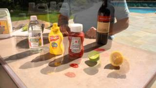 Z Counterform - Concrete Countertop Seal and Polish Test