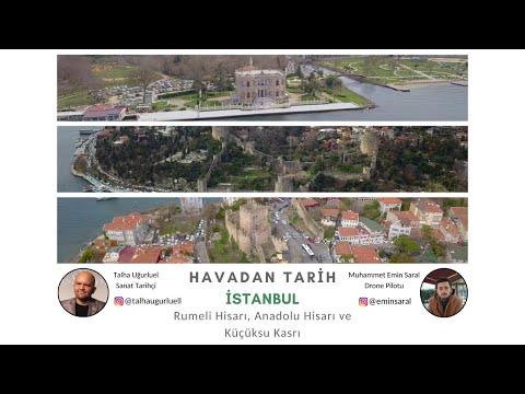 Havadan İstanbul Boğazını