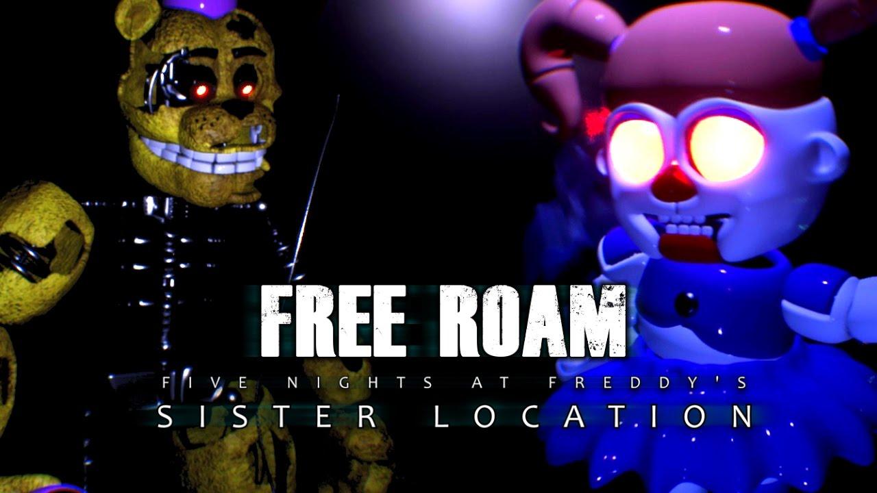 SISTER LOCATION FREE ROAM UPDATE