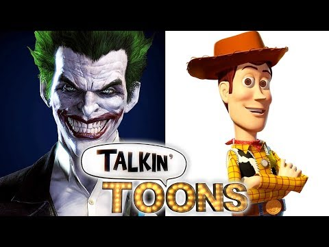 Troy Baker Is Batman and the Joker as Buzz and Woody! Talkin' Toons w Rob Paulsen