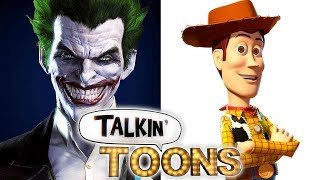 Troy Baker Is Batman and the Joker as Buzz and Woody! (Talkin' Toons w/ Rob Paulsen)