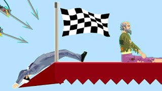 NON RIESCO A RAGGIUNGERE IL TRAGUARDO!! - Happy Wheels [Ep.111]