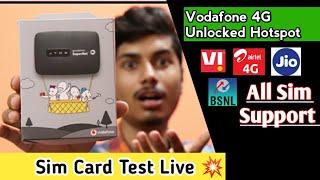 Vodafone Mobile Wifi Hotspot | All sim support hotspot | Sim Card Test Live | Part-2
