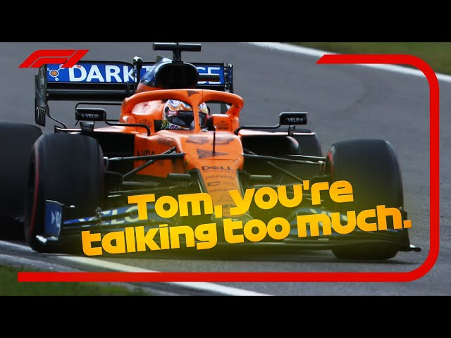 Raucous Ricciardo, Sainz Wants Silence And The Best Team Radio | 2020 Eifel Grand Prix