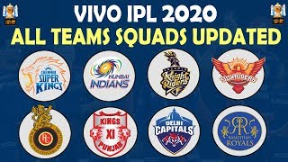 IPL 2020 | All Teams Squads Updated | Retained Players Final List | CSK RCB MI KKR SRH DC KXIP RR