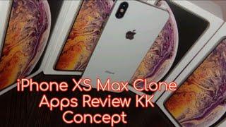 IPhone xs max kk concept Dubai Clone apps review