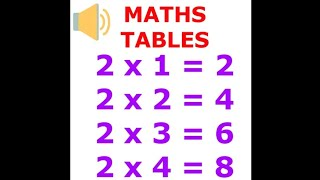 Maths Multiplication Tables for Children 2 to 20 || Multiplication Tables for kids || Multiplication