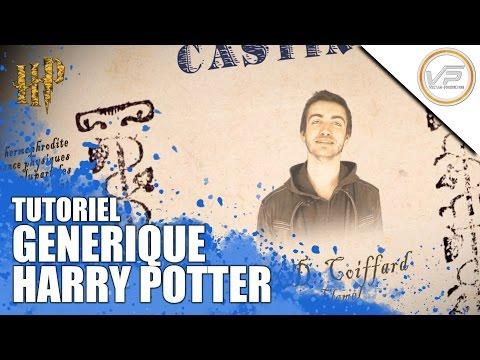 [TUTO]  Créer un générique Harry Potter (Gazette du Sorcier)