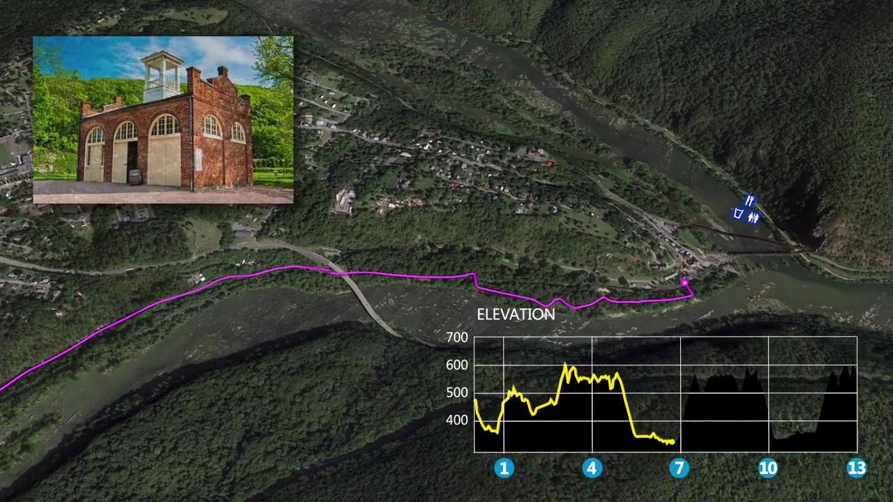 Big Sur Half Marathon Elevation Map.Harpers Ferry Half Marathon Course Map Youtube