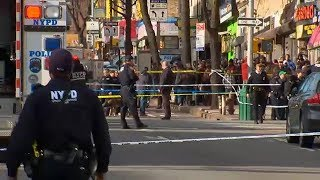 Hostile scene after deadly police-involved shooting in Brooklyn