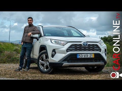 TOYOTA RAV4 2019 é H�BRIDO mas é BOM? [Review Portugal]