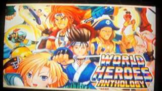 World Heroes Anthology - PS2