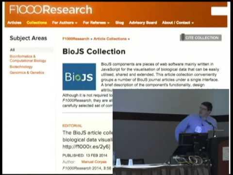 BioJS: an Open Source Standard for Biological Visualisation