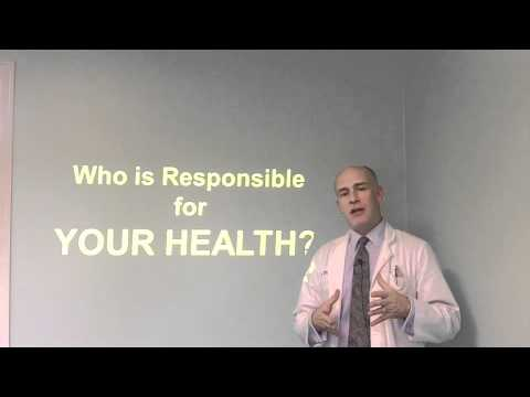 12 Days of Christmas Health Tip #1- Who's Responsible For Your Health?