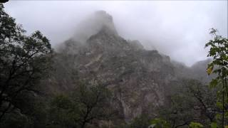 Copper Canyon rainstorm