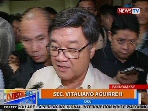 NTG: Panayam kay DOJ Sec. Vitaliano Aguirre II