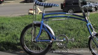 Swing Bike bicycle drifting tricks & stunts in San Francisco