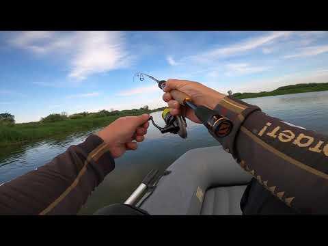 Рыбалка на четырёхчастный ультралайт