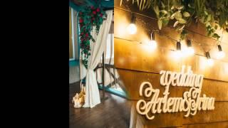 Гранатовая свадьба в цвете Марсала в ресторане Кремень   Flavio boutique г. Кременчуг