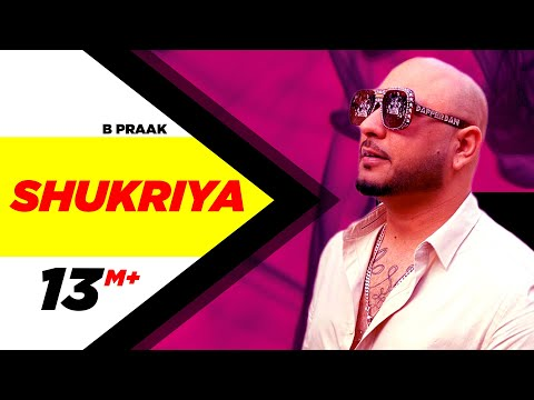 Shukriya Official Video  Sufna  B Praak  Jaani  Ammy Virk  Tania  Latest Punjabi Songs 2020