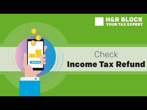 Income Tax Refund | Online Refund Status Check | H&R Block