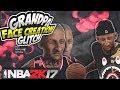 NBA 2K17 | GRANDPA KAYY FACE CREATION  !