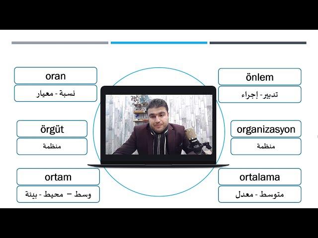 مفردات اللغة التركية المستوى الثالث N O Ö