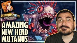 NEW HERO MUTANUS IS AMAZING! - Hearthstone Battlegrounds