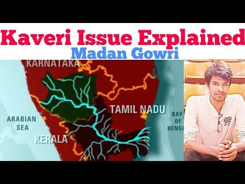 Kaveri Issue Explained   Tamil   Madan Gowri    MG   Cauvery