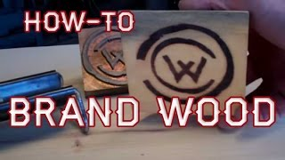How-to Use a Branding Iron on Wood by Mitchell Dillman