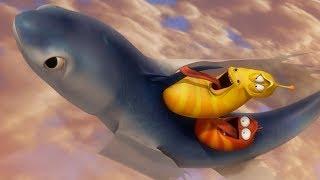LARVA - FLYING FISH | Cartoons For Children | LARVA Official