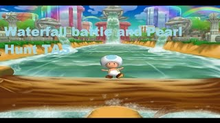 Mario Party 7 PAL - Waterfall battle and Pearl Hunt [TAS]