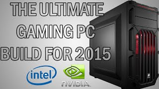 Gaming PC Build 2015 | Gtx 970 & I7 4790K | Max All Games 1080p | Under £1000 | OS Included